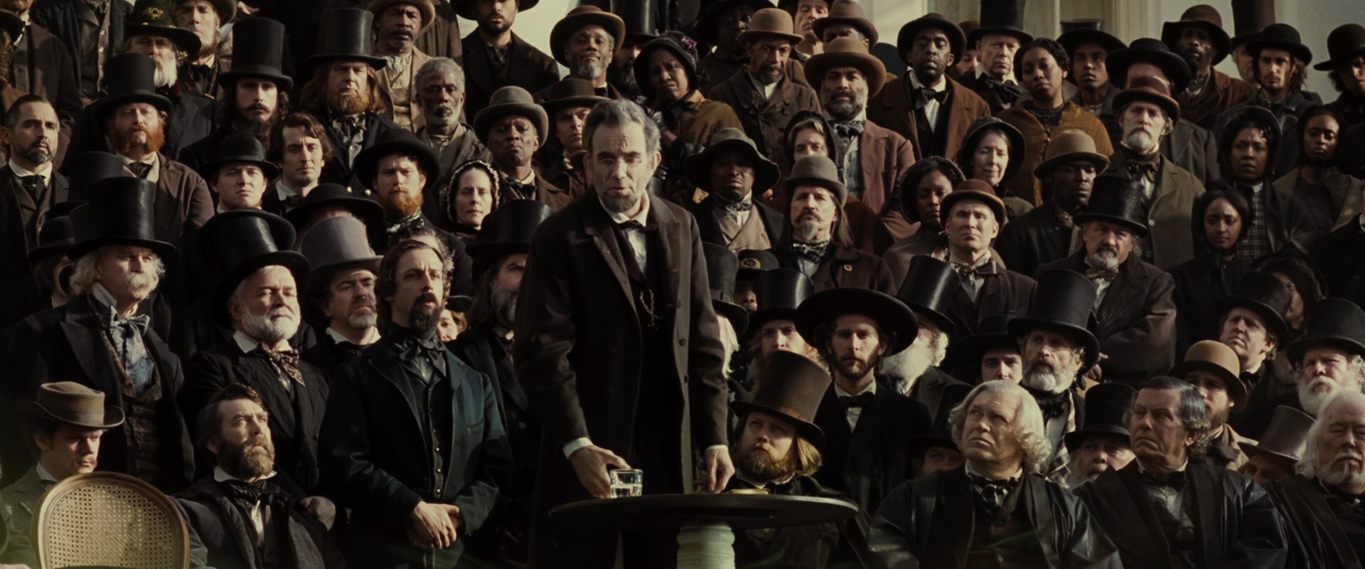 an analysis of the 2012 movie lincoln Lincoln: film review 9:00 pm pdt 11/1/2012 by first unveiled at an unannounced sneak preview at the new york film festival on oct 8, lincoln will receive its.