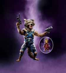 Rocket Raccoon Action Figure