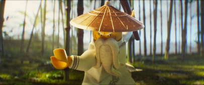 Jackie Chan as the voice of Master Wu in THE LEGO NINJAGO MOVIE