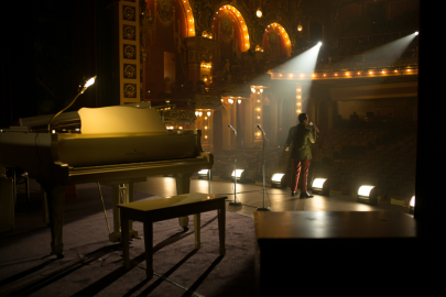 An empty theatre in DETROIT.