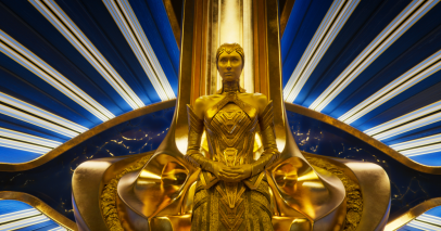 Elizabeth Debicki stars in GUARDIANS OF THE GALAXY, VOL. 2