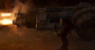 Zoe Saldana stars in GUARDIANS OF THE GALAXY, VOL. 2