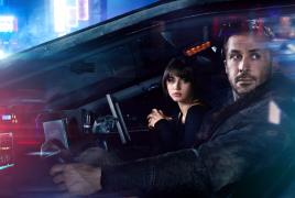 Ryan Gosling and Ana de Armas star in BLADE RUNNER 2049.