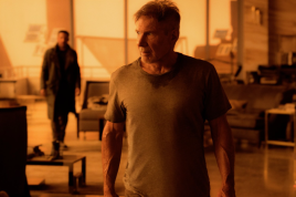 Harrison Ford stars in BLADE RUNNER 2049.