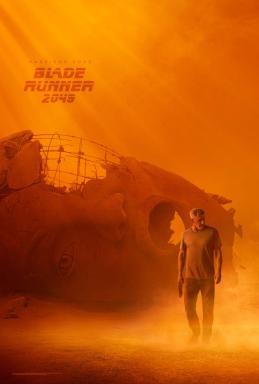 Harrison Ford One Sheet Poster for BLADE RUNNER 2049.