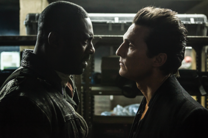 Idris Elba and Matthew McConaughey star in THE DARK TOWER.