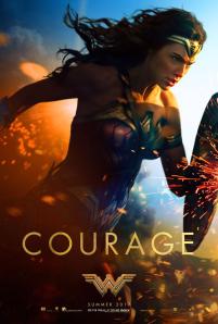 "Wonder Woman ""COURAGE"" One Sheet"