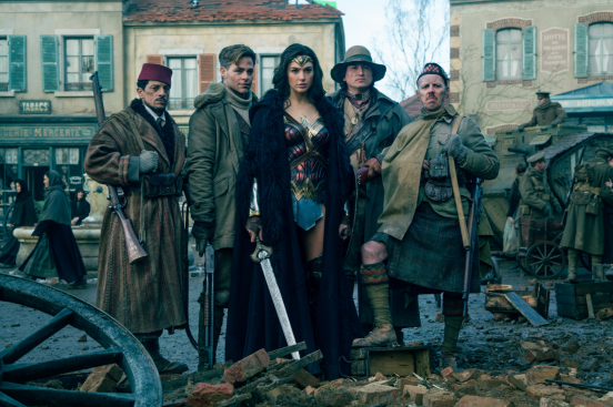 The heroes of WONDER WOMAN