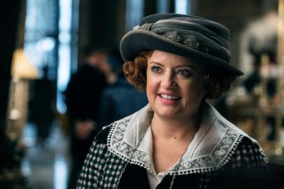 Lucy Davis co-stars in WONDER WOMAN
