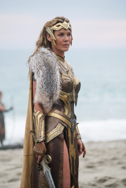 Connie Nielsen co-stars in WONDER WOMAN