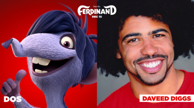 Daveed Diggs is the voice of Dos in FERDINAND.