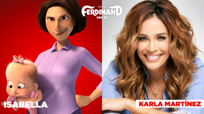 Karla Martinez is the voice of Isabella in FERDINAND.