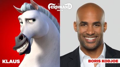 Boris Kodjoe is the voice of Klaus in FERDINAND.
