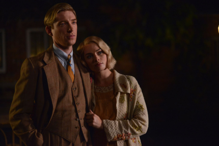 Domhnall Gleeson and Margot Robbie star in GOODBYE CHRISTOPHER ROBIN.