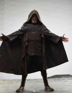 Mark Hamill as Luke Skywalker in STAR WARS: THE LAST JEDI.
