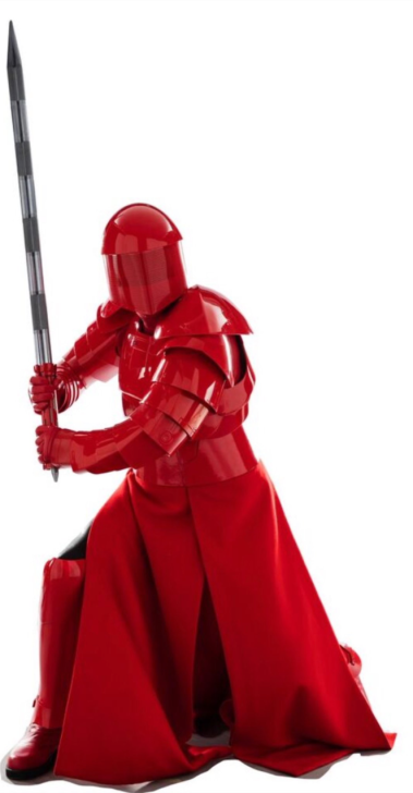 Elite Praetorian Guards of Supreme Leader Snoke in STAR WARS: THE LAST JEDI.