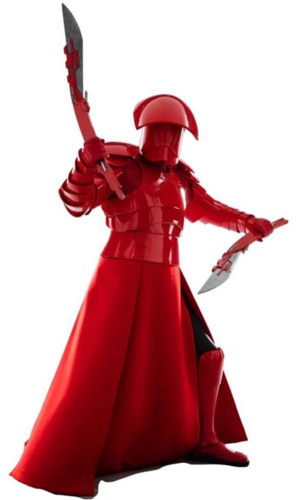 Elite Praetorian Guards of Supreme Leader Snoke in STAR WARS: THE LAST JEDI.