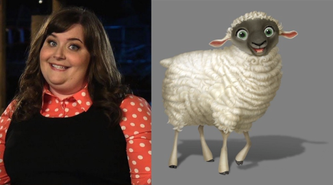 Aidy Bryant as Ruth the Sheep in THE STAR.