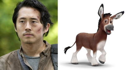 Steven Yeun as Bo the Donkey in THE STAR.