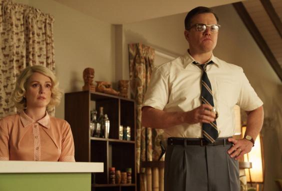 Julianne Moore and Matt Damon star in SUBURBICON.