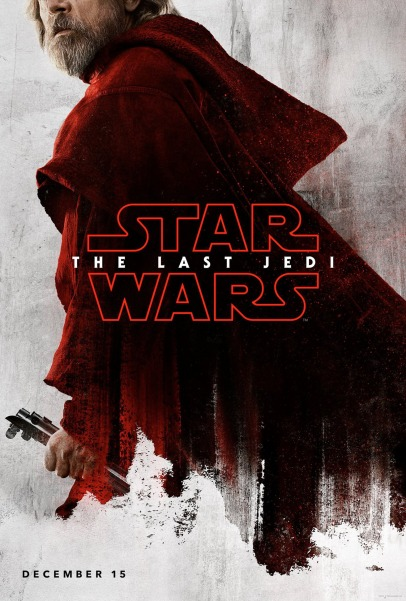 Luke Skywalker character poster for STAR WARS: THE LAST JEDI.