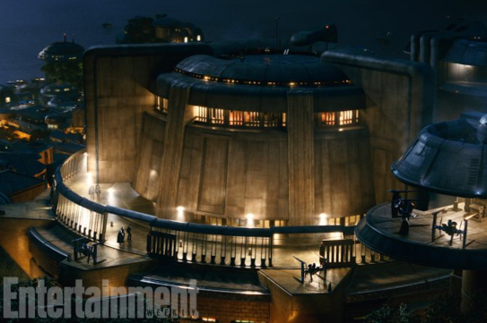 The casino of Canto Bight in STAR WARS: THE LAST JEDI.