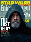 Entertainment Weekly Luke Skywalker Cover for STAR WARS: THE LAST JEDI.