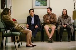 Grace Van Patten, Ben Stiller, Adam Sandler, and Elizabeth Marvel star in THE MEYEROWITZ STORIES (NEW AND SELECTED).