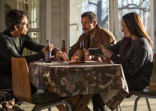 Ben Stiller, Adam Sandler, and Elizabeth Marvel star in THE MEYEROWITZ STORIES (NEW AND SELECTED).
