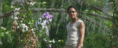 Tessa Thompson co-stars in ANNIHILATION.