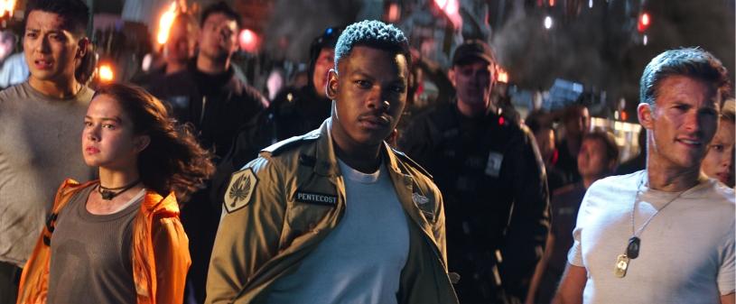 John Boyega and Scott Eastwood star in PACIFIC RIM: UPRISING.