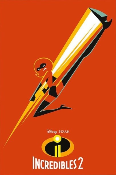INCREDIBLES 2 Mrs Incredible Pop Art One Sheet