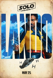 Donald Glover stars as Lando Calrissian in SOLO: A STAR WARS STORY.