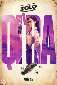 Emilia Clarke stars as Qi'ra in SOLO: A STAR WARS STORY.