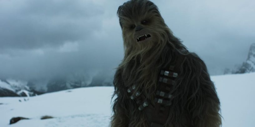 Chewbacca in SOLO: A STAR WARS STORY