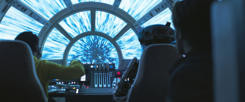 Jump to lightspeed in SOLO: A STAR WARS STORY