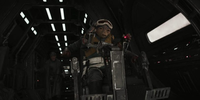A creature from SOLO: A STAR WARS STORY